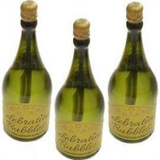 BUBBLES BOTTLE CHAMP. 4PK