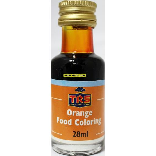 TRS Orange Liq Food Colour 28ml