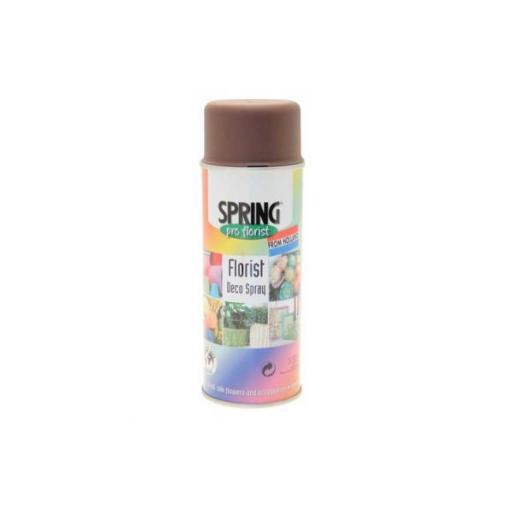 Dark Brown Florist Deco Aerosol Spray 400ml