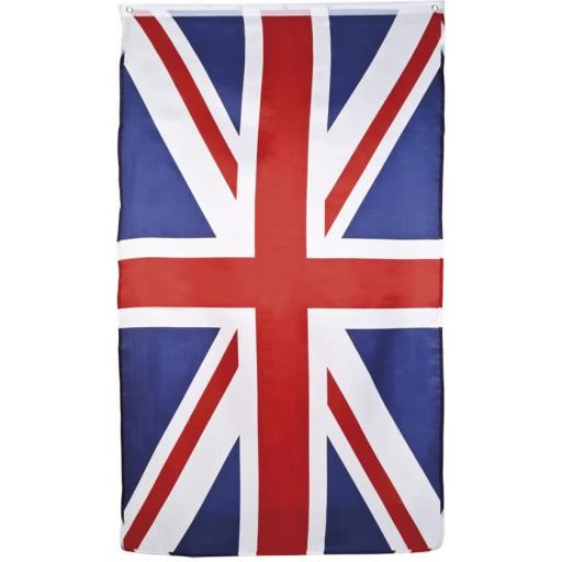 England Flag 90x150cm poly-ester, 2 eyelets included