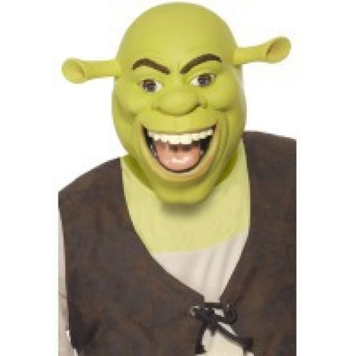 Shrek Mask Latex Adult Size