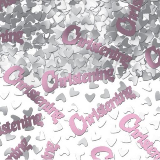 Christening confetti