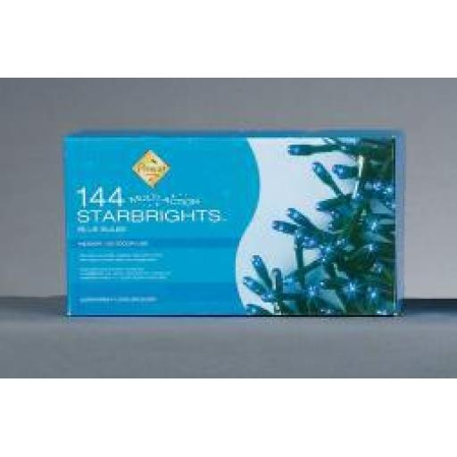 144 BULB MULTI-ACTION STARBRIGHTS-BLUE