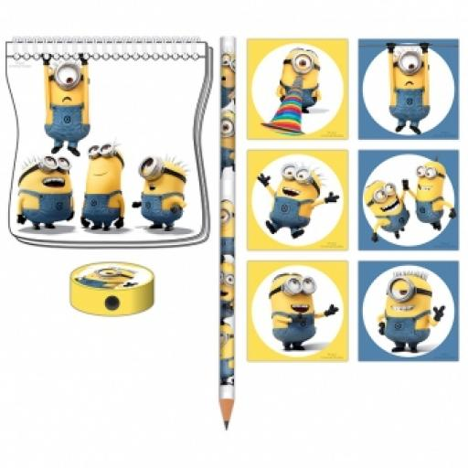 Minions Stationery Packs 20 Favours