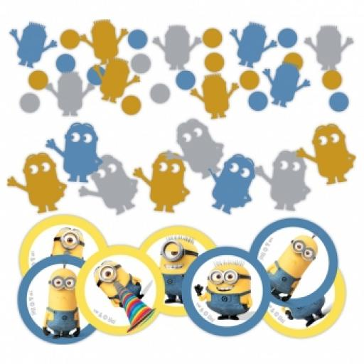 Minions 3 Pack Value Confetti 34g