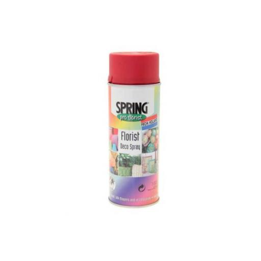 Holiday Red Florist Aerosols Deco Spray 400ml