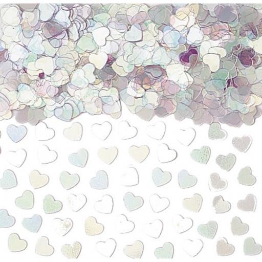 Sparkle Hearts Metallic - Iridescent 14g