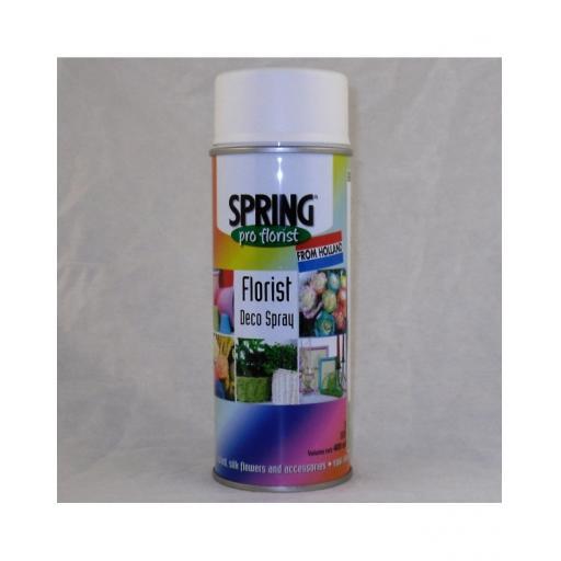 Soft White Florist Deco Aerosol Spray 400ml