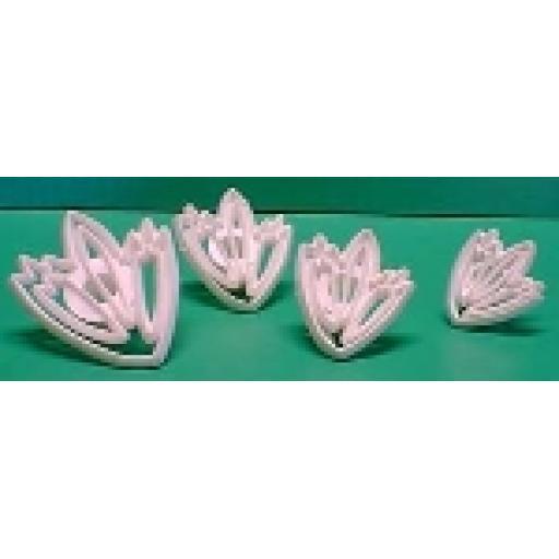 Lace Leaf Cutters Set (ll1 Ll2 Ll3 Ll4)