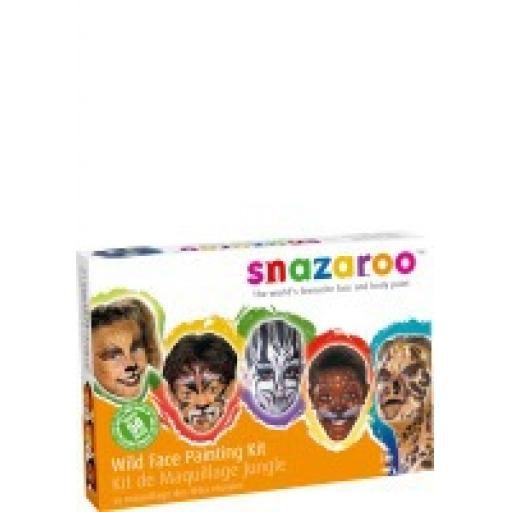 WILD FACE PAINTING KIT
