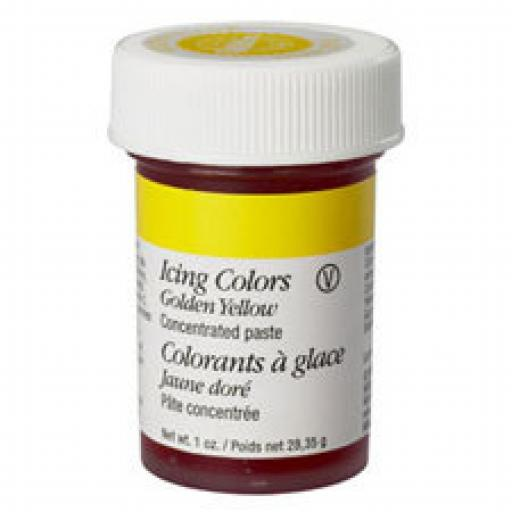 Wilton Golden Yellow Icing Colour