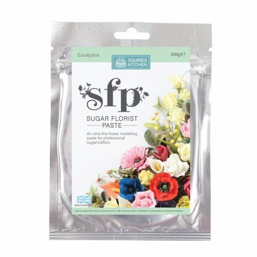 Squires Sugar Florist Paste (SFP) - Eucalyptus - 200g