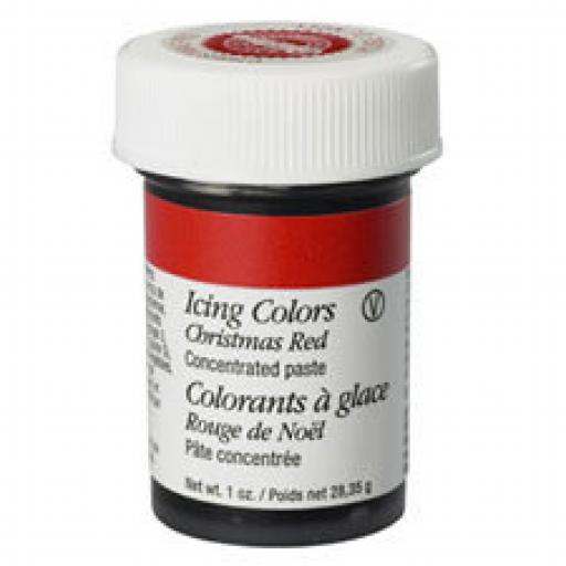 Wilton Christmas Red Icing Colour