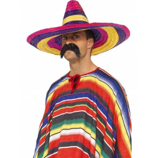 Large Sombrero Multi Colour