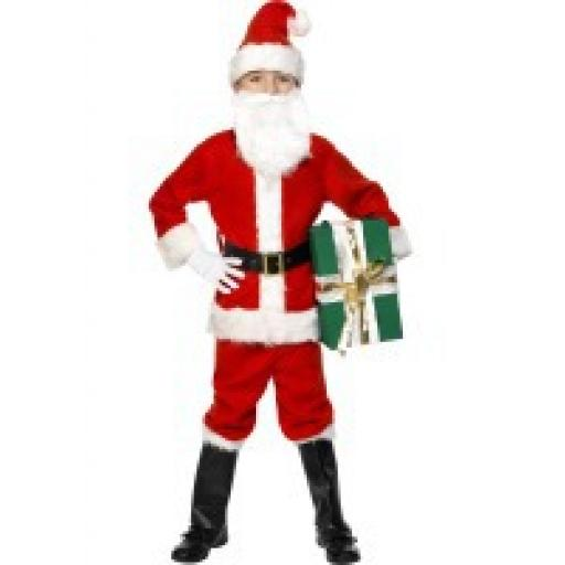 Deluxe Santa Costume- Large