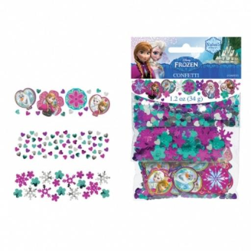 Frozen 3 Packs Mixed Confetti - 34g