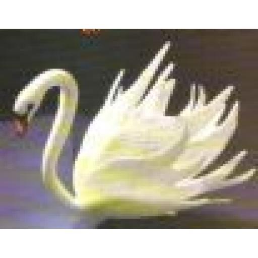 Flower Swan Cutters Set & Moulds