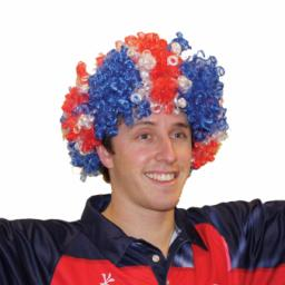 Great Britain Union Jack Afro Wig - One size fits most