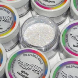 Sparkle Range White Hologram Decorators Glitter 5g