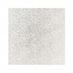 18 Inch Square 12mm Cake Drum - Silver