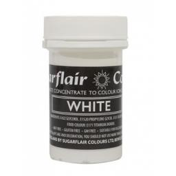 Sugarflair Spectral Paste White 25g