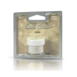 Rainbow Dust Edible Glitter -Ivory