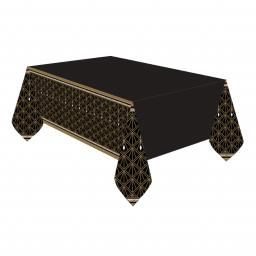Hollywood Plastic Tablecover 1.37m x 2.6m (54x102in)