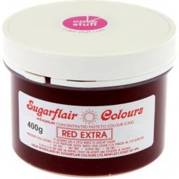 Sugarflair Red Extra Icing Paste Colouring 400g