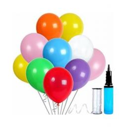 Latex Pastel Coloured Assorted Balloons 12in 50pcs
