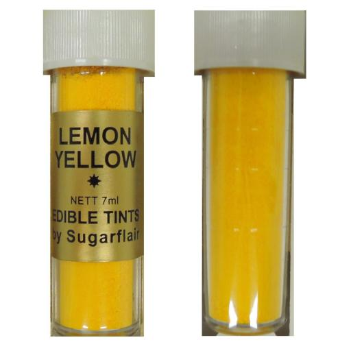 Sugarflair Blossom Tint Lemon Yellow Edible 7ml