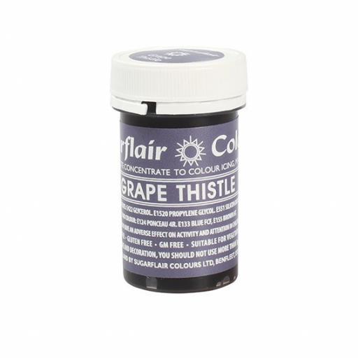 Sugarflair Spectral Grape Thistle Colour 25g