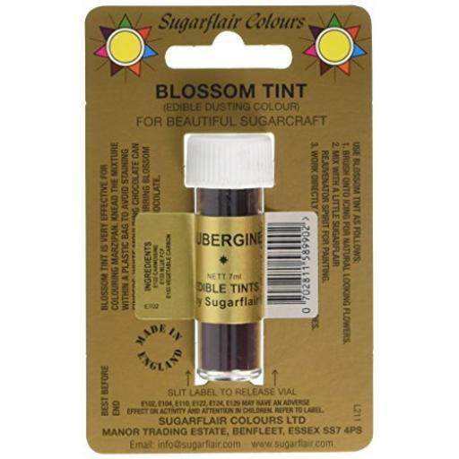 Sugarflair Blossom Tint Aubergine 7 ml