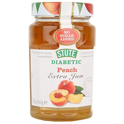 Stute Diabetic Peach Jam 430g