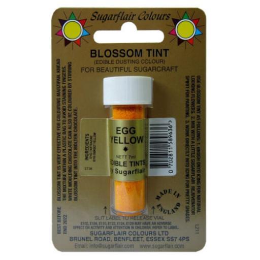 Sugarflair Blossom Tint Egg Yellow-7ml