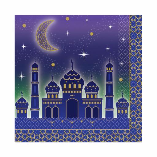Eid Celebration Luncheon Napkins 33cm 16pcs 2ply