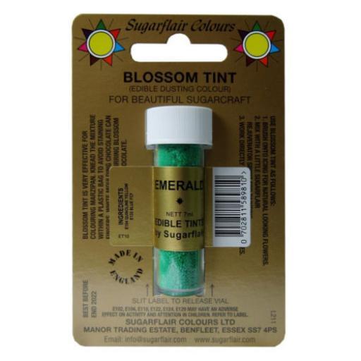 Sugarflair Blossom Tin Emerald-7ml