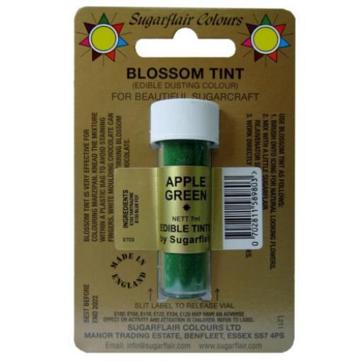 Sugarflair Blossom Tint Apple Green-7ml