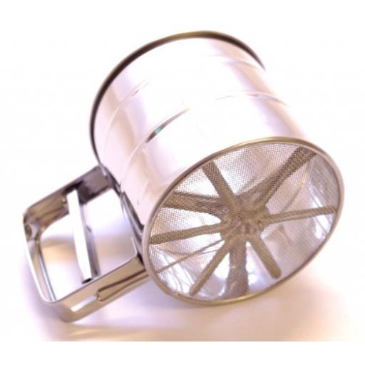 Flour Sifter - Trigger Action - Stainless Steel