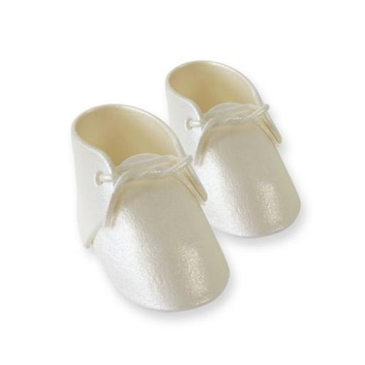 PME Pearl Baby Bootee Cake Topper-88g
