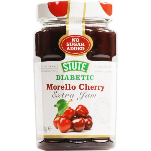 Stute Diabetic Morello Cherry Jam 430g
