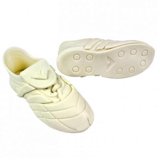 PME Edible Cake Topper Sports Shoes White pk/2