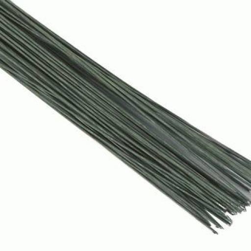 Dark Green Floral Wire - 30g