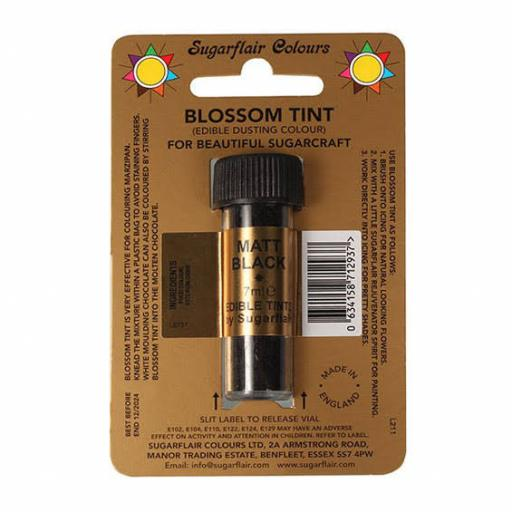 Sugarflair Blossom Tint Matt Black -7ml