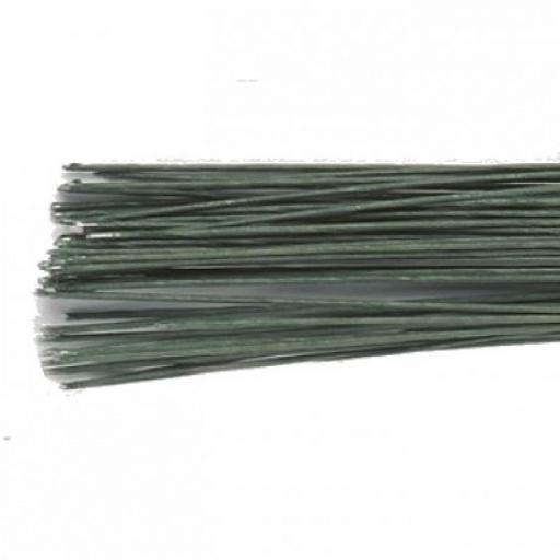 Dark Green Floral Wire - 24g