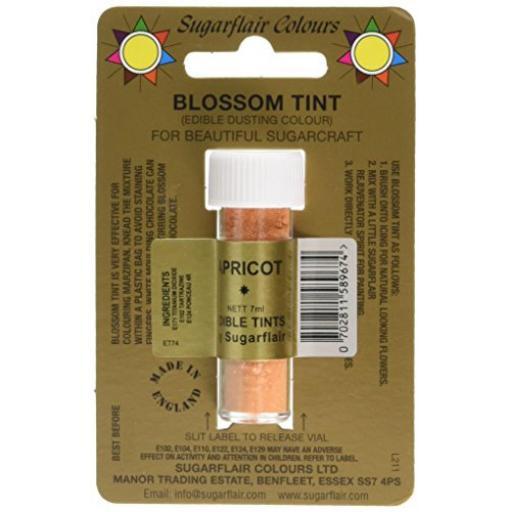 Sugarflair Blossom Tint Apricot 7ml
