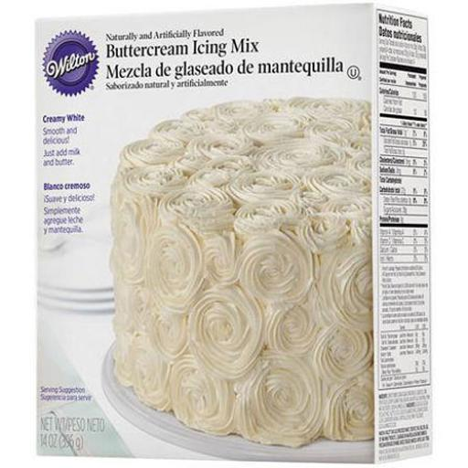 Buttercream Icing Mix396g
