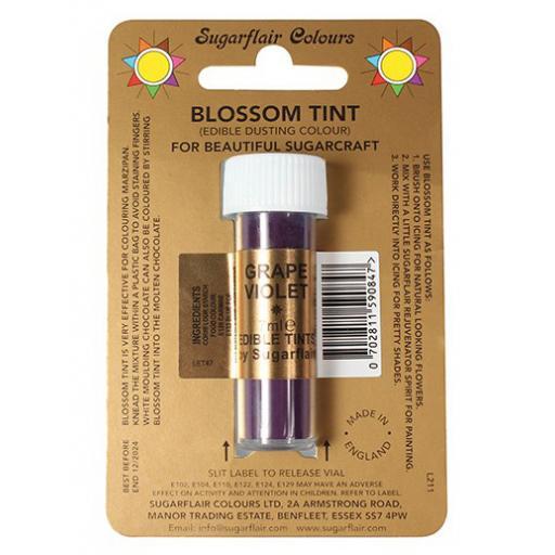 Sugarflair Blossom Tint Grape Violet -7ml