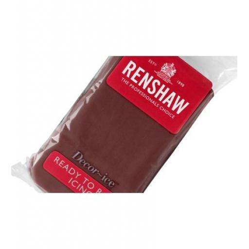 Renshaw Chocolate Flavour Ready to Roll -250g