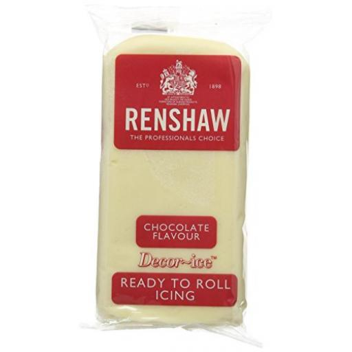 Renshaw White Chocolate Flavour Ready to Roll -250g
