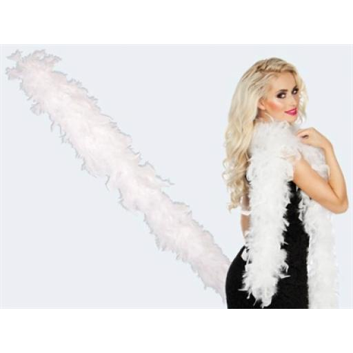 White Feather Boa 180cm